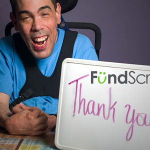 We're fundraising with Fundscrip!