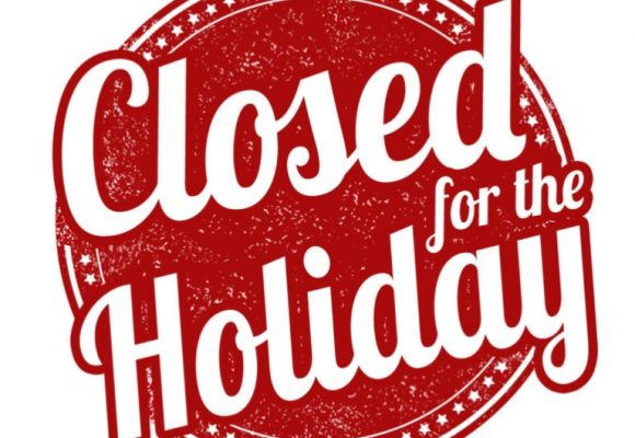 Notice of Holiday Closure