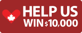 Help us win $10,000